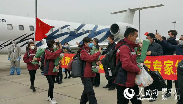 Chinese medical team returns after aid mission to Russia